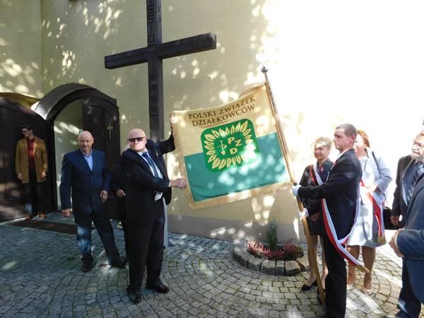 Podwójna uroczystość w ROD Dzierżonia w Krapkowicach
